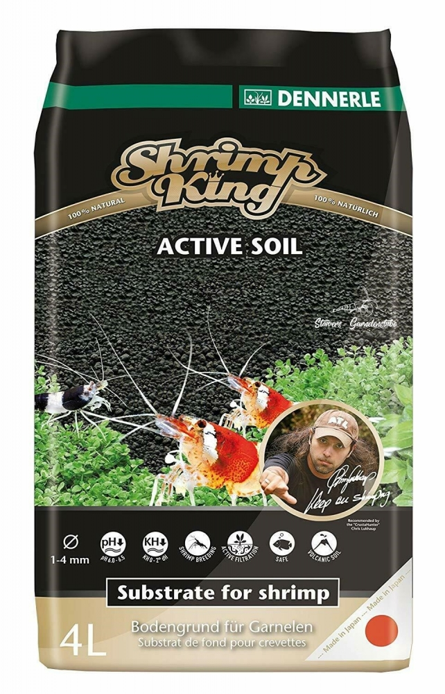Bild 1 von Dennerle Shrimp King Active Soil  4 Liter